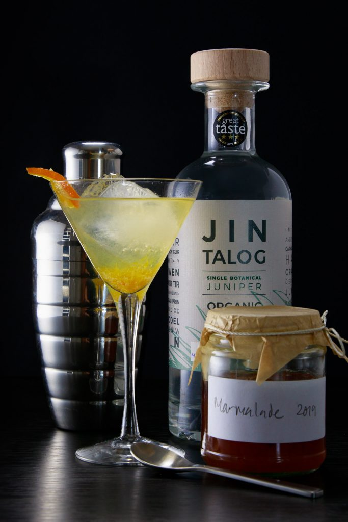 The Breakfast Martini a gin cocktail from Jin Talog