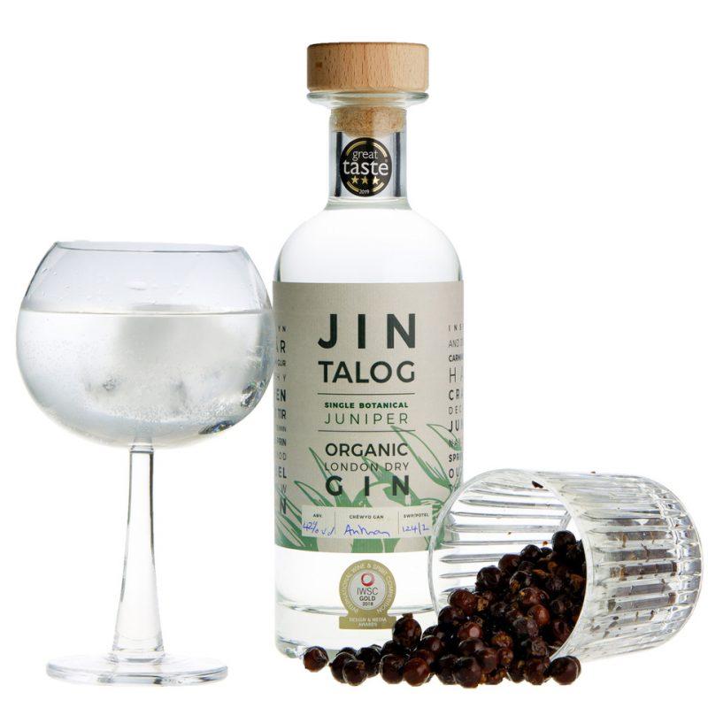 Jin Talog Organic Gin Single Botanical