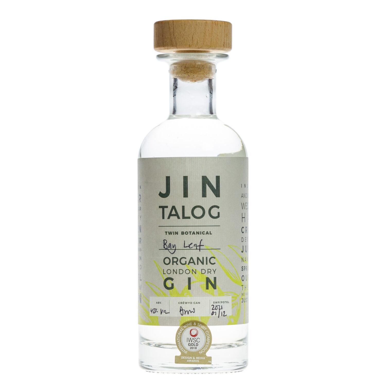 Jin Talog Twin Botanical Bay Leaf Organic Gin Bottle