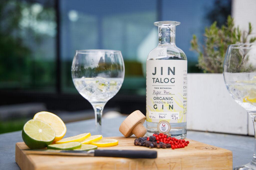 Jin Talog Pupur Pinc Organic Gin