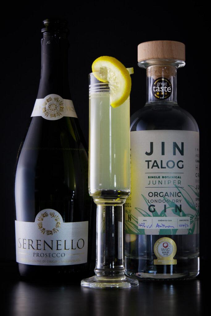 Jin Talog French 75 - Gin Cocktail