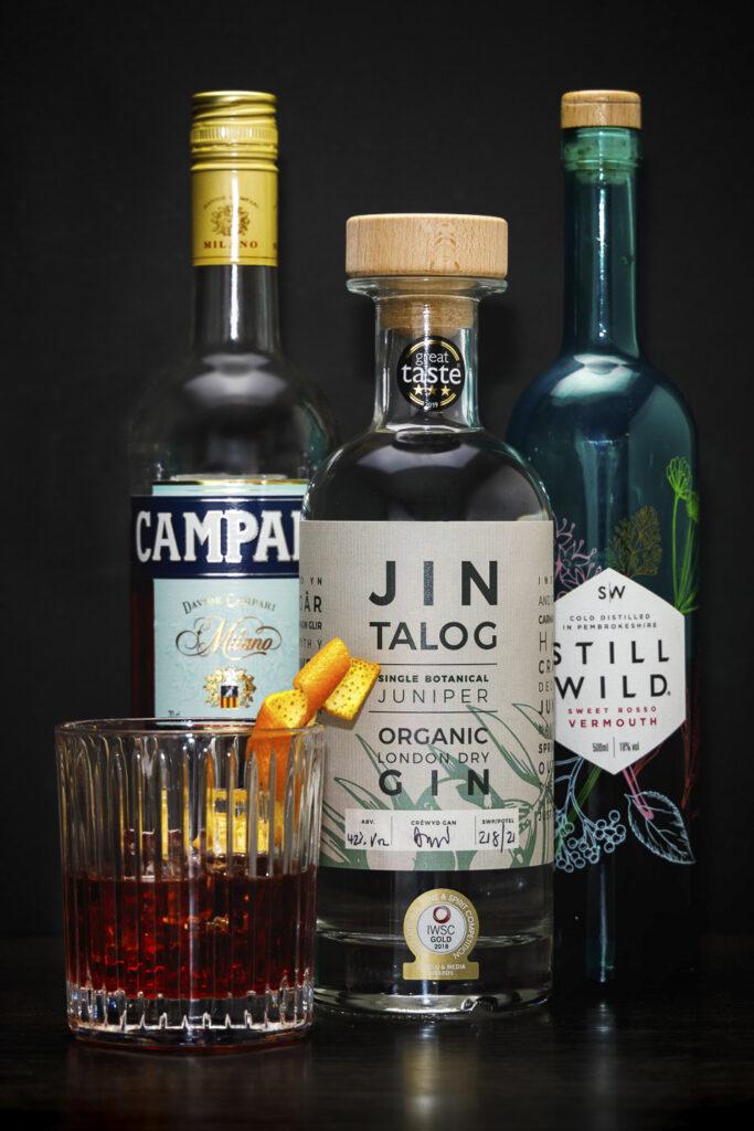 Jin Talog Talogroni Gin Cocktail