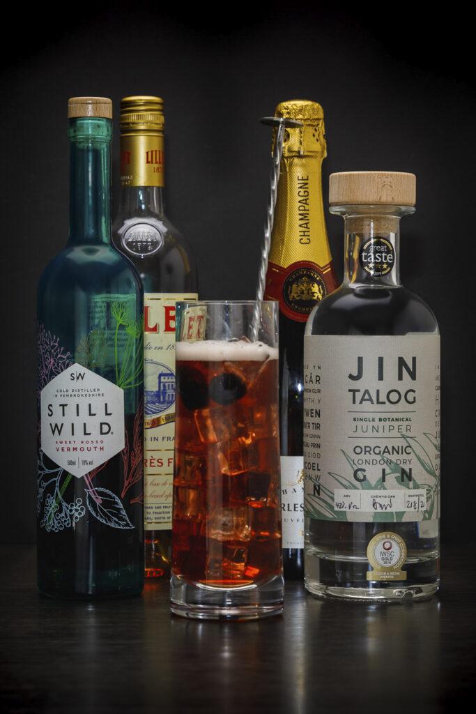 Jin Talog The Talog Twister Gin Cocktail