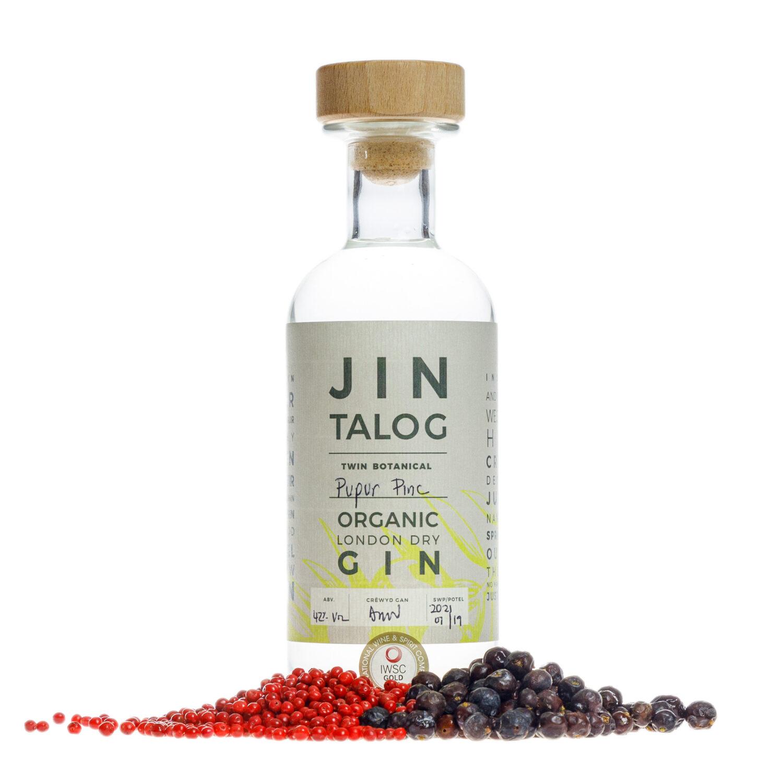 Jin Talog Twin Botanical Pupur Pinc Organic Gin
